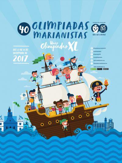 Olimpiadas Marianistas San Felipe Neri 2017
